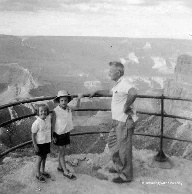 dad chris cathy at grand canyon