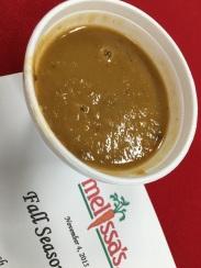 Roasted chestnut soup