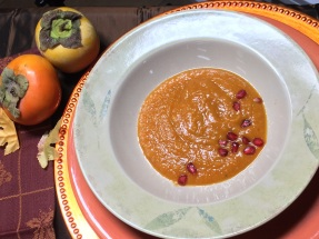 Roasted butternut bisque