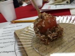Crimson gold caramel apple